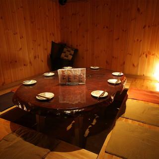接待・ご会食に最適な掘りごたつ個室