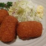 魚寅食堂 - カニクリームコロッケ
