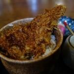 竹の家 - ミニかつどん付き なべ焼うどん