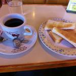 彫刻喫茶 三鈴 - コーヒーとトースト