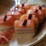 23267856 - サーモン押し寿司