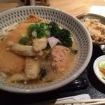 HASEGAWASAKETEN 酒友 - 揚げ&ごぼう天うどん生姜入り!