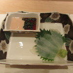 艪 - カワハギ 肝醤油