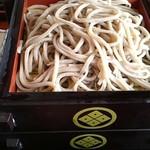 きむら - 蕎麦は1人前200グラム