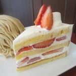 パティスリー プレジール - ショートケーキ