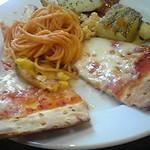 チサンホテル - ピザとパスタ・・・