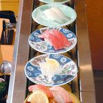 グルメ回転寿司 函太郎 - 料理写真: