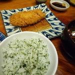 かつ吉 - ロースかつ定食(120g)