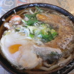 ねこや食堂 - 鍋焼きうどん(800円)