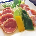 レストランオリビエ - 鶏肉のステーキ