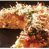おうさか苑 - 料理写真:お好み焼きの王道は豚玉です。側がかりっと中はふっくら、さくさくの豚玉はほんとうにおいしいですよ。