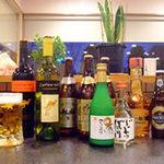 大満 - 大満には、たくさんの種類のお酒をご用意しております。