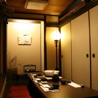 各種ご宴会に最適な個室をご用意しております!
