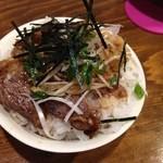 嵐風 - ミニ牛チャーシュー丼200円