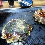 のぐち - ミックス焼き・豚玉