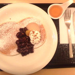 葉風穂 - シンプルだがふわふわなパンケーキ