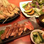 こころ - 季節の旬野菜と串カツ、お肉料理のお店です☆豚肉にこだわりあり♪