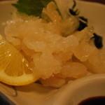 菊川酒蔵 東店 - クラゲ刺身