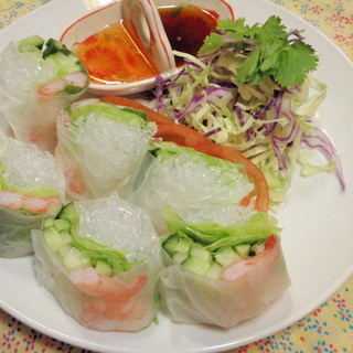 アジアンテイストの料理メニューが豊富です!
