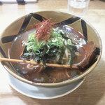 麺豚進 - カンフー(韓風)醤油ラーメン680円