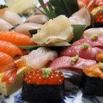 鮨竜 - 寿司はもちろん、北海道料理も充実している鮨竜は少人数の会食から宴会まで◎