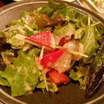 あらた - 鯛のカルパッチョのサラダ