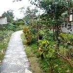 茶房 花南 - 平成25年12月、雨