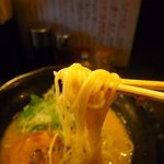 ちょんまげ食堂 ラーメン部 - 麺リフト~