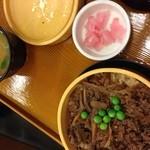 関サービスエリア(上り線) - 飛騨牛セイロ飯