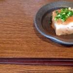 野の茶 - 蕎麦豆腐