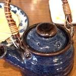 野の茶 - 蕎麦湯