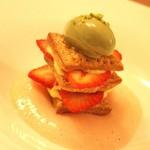 ラ・ヴァガボンド - Desserts 苺のミルフィーユ☆