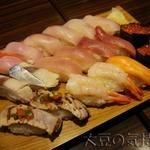 23286523 - 高級寿司食べ放題(¥4,189)