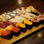 23286527 - 高級寿司とは言いがたい寿司たち