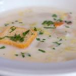 ル・レストラン・ドゥ・ヨシモト - 4)お野菜の暖かいクリームスープ