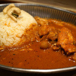 ヌンクイ - 料理写真:チキンとチリペッパーのカレー