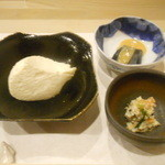 川島豆腐店 - ざる豆腐、胡麻豆腐、おから