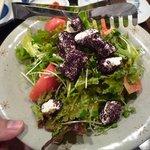 ふく問屋 あたか - クリームチーズ&紫蘇の和風サラダ