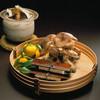 京懐石 吉泉 - 料理写真:焼松茸、鮪杉板寿司