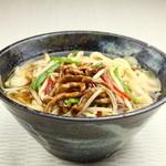 餃子酒場 - 青肉刀削麺