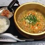 韓国弁当マダン - 辛ラーメン定食