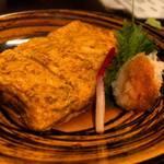 今昔亭 - 【蕎麦屋の玉子焼】