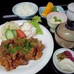 しらはま - 生姜焼き定食