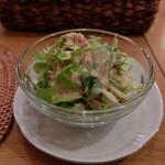 カフェアブリ - セットのサラダ