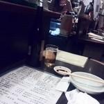 創作酒房 十六夜 - 細長いカウンター