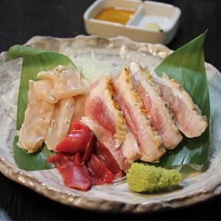 宮崎は都城直送の完熟みやざき地頭鶏を使用!