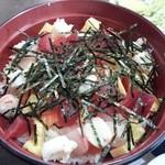 えびせい - バラちらし海鮮丼