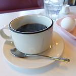 ソレイユ - ドリンク写真:2014.01 昔懐かしい感じのカップに入れられたコーヒー