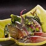 酔灯屋 - 五島産の鯖に特製のタレをかけたごまさば は絶品♪