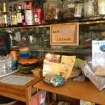 オレンジ カウンティ Cafe - お水はセルフサービスになっております。